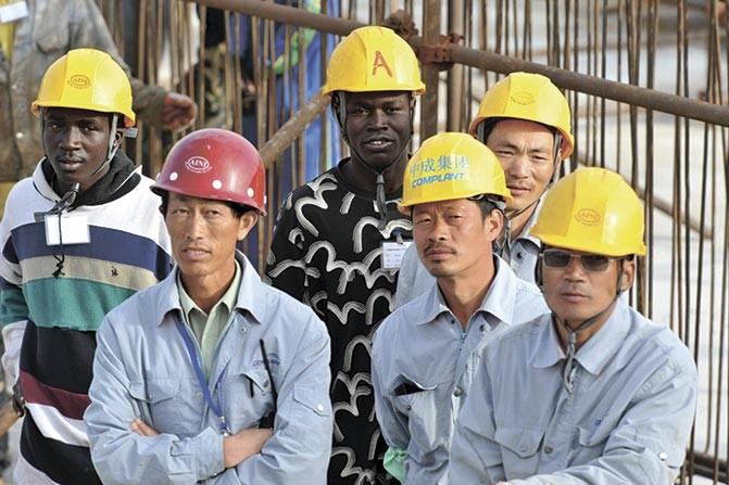 Chinese mega-deals to expand infrastructure