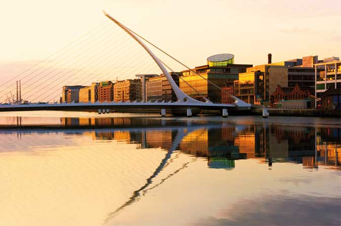 Once neglected, Dublin's Docklands now radiates progress