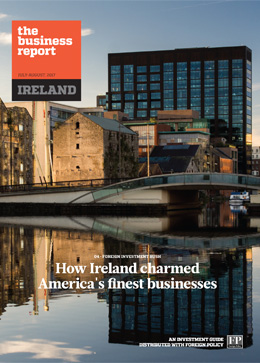 How Ireland charmed America's finest businesses