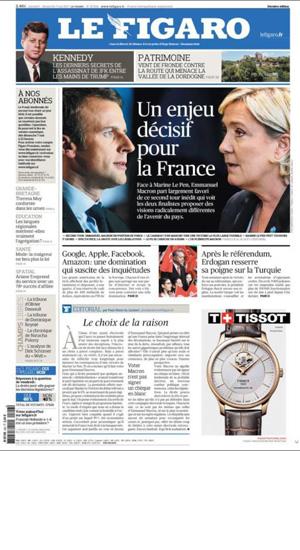 Le Figaro Media Partner portal