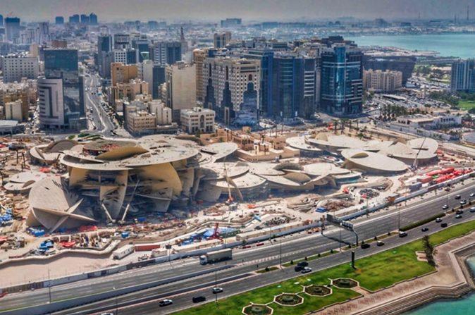 "Qatar's ""desert rose"" National Museum receives Best Roofscape award"