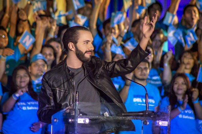 Anti-corruption advocate Bukele wins El Salvador's presidential elections